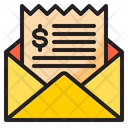 Bill Shopping Mail Icon