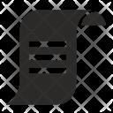 Bill Rule Paper Icon
