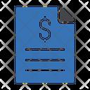 Bill Tax File Icon