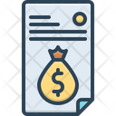 Bill Payment Emolument Icon