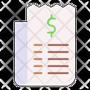 Bill Invoice Paid Icon