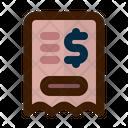 Invoice Bill Payment Invoice Icon
