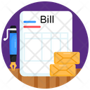 Document Bill Invoice Icon