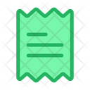 Receipt Invoice List Icon