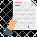 Bill Invoice Agreement Icon