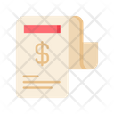Bill Bill Receipt Invoice Icon