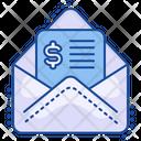 Bill Invoice Mail Icon