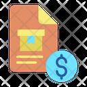 Bill Document Icon