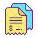 Bill Documents Bill Invoice Icon