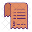 Bill Dollar Invoice Bill Icon