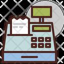 Bill Machine Billing Machine Invoice Machine Icon