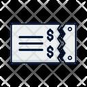 Bill Note Bill Ecommerce Icon