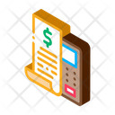 Cash Bank Check Icon