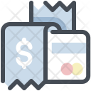 Bill Payment With Card Icon