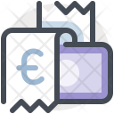 Bill payment with cash Icon