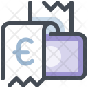 Bill Payment With Credit Card Icon