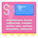 Bill Receipt Icon