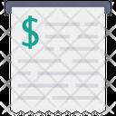 Bill Receipt Invoice Bill Icon