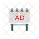 Ads Banner Marketing Icon