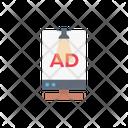 Billboard Ad Marketing Icon