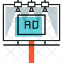 Billboard Advertising Ad Icon
