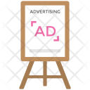 Billboard Ad Icon