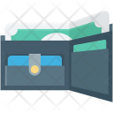 Billfold Wallet Card Icon