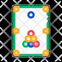 Interactive Game Billiard Icon