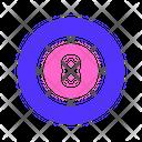 Sport Billiard Ball Icon