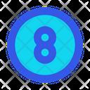 Billiard Snooker Ball Icon
