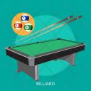Billiard Sport Awards Icon