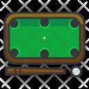 Billiard Table Gambling Icon