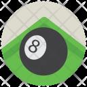 Billiard Ball Poker Icon