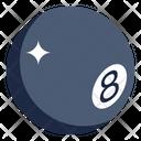 Pool Ball Billiard Ball Sports Ball Icon