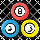 Billiard Balls Cue Sports Pool Ball Icon