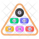 Cue Balls Billiard Balls Pool Balls Icon