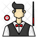 Avatar Billiards Pool Cue Icon