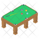 Billiard Pool Table Icon