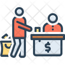 Billing Cash Counter Cashier Icon