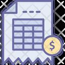 Billing Invoice Icon