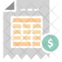 Billing Invoice Icon