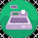 Receipt Machine Billing Machine Cash Register Icon