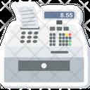Billing Machine Cash Counter Receipt Generator Icon