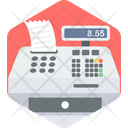 Billing Machine Cash Counter Receipt Generator Icon