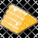 Billion Capital Gold Stack Icon