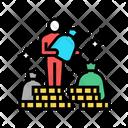 Billionaire Human Cash Icon