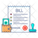 Invoice Payment Bill Pay Bills Payment Icon