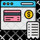 Billpay Online Bill Checkout Icon