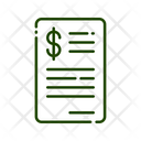 Bills Invoice Bill Icon