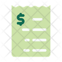 Bills Invoice Receipt Icon